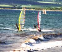 windsurfing at Hookipa Beach, Maui, Hawaii